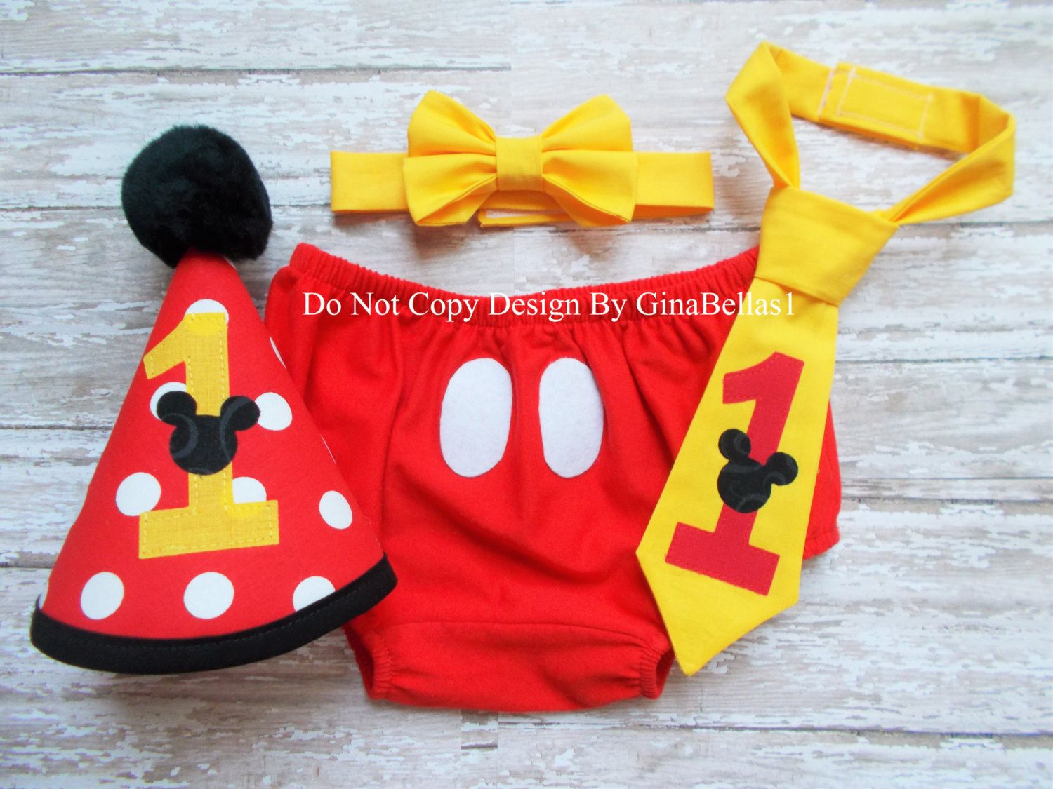 Conners sales group red hat project - Mickey Mouse Birthday Cake Smash Outfit Costume Boy First Clubhouse I Am One Red Hat Diaper Cover Bow Tie Or Tie Twins 12 18 Toddler Sale