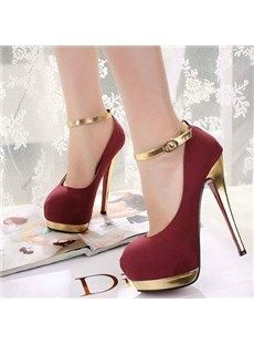 973f495549a5 Cranberry colored pumps | Get High in 2019 | Shoes, High heels, Heels