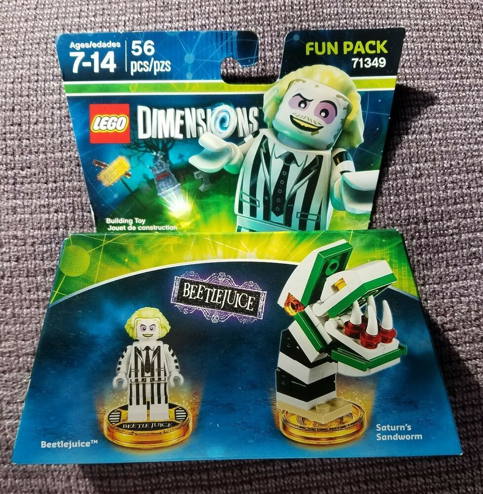 LEGO Dimensions Beetlejuice Fun Pack 71349 NEW