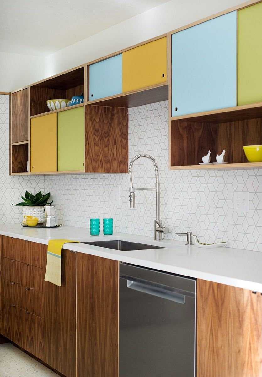 Midcentury House Renovation In Boise Idaho Before After Mid Century Home Mid Century Modern Kitchen Cabinets Mid Century Modern Kitchen Mid Century Kitchen