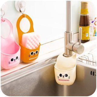 Animal Printed Kitchen Sponge Holder Kitchen Sink Organization Plastic Bottle Crafts Under Kitchen Sink Organization