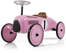 Mini Speeders Potkuauto Classic Racer, Vaaleanpunainen
