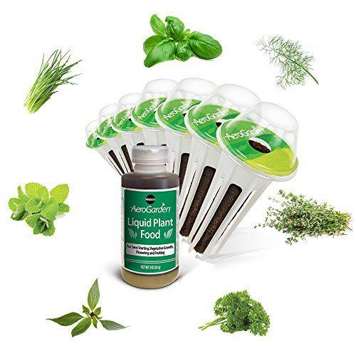 Miraclegro Aerogarden Gourmet Herb Seed Pod Kit 7Pod 400 x 300