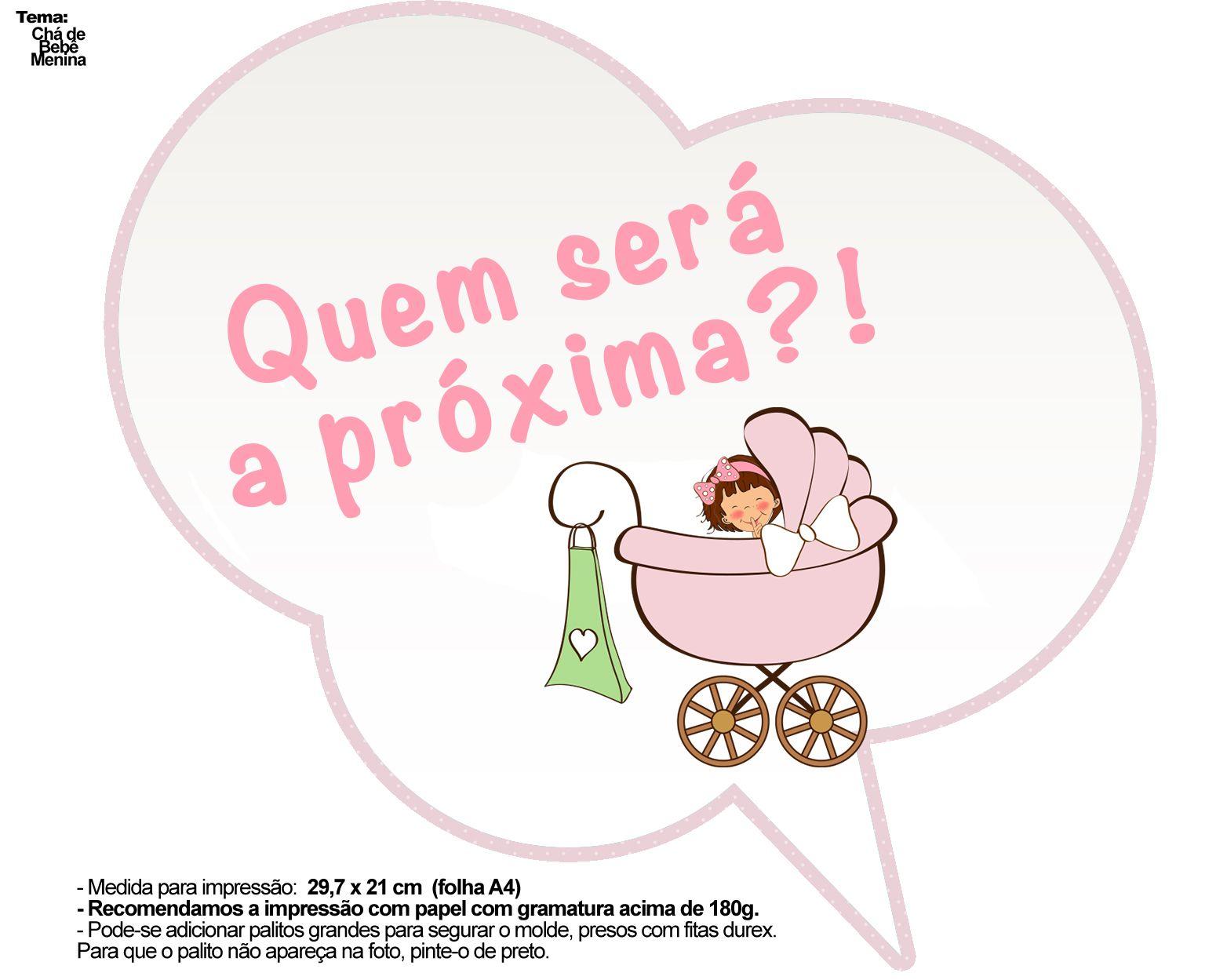 Muitas vezes PLAQUINHAS-MOLDE-FNF-Chá-de-bebê-menina_03 | Chás de bebê menina  BC33