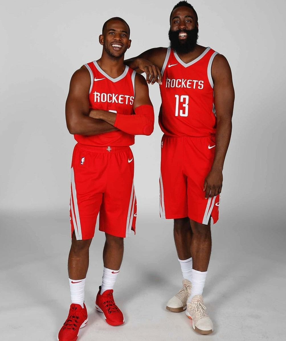 f1d552c5a229 Houston rockets Chris Paul and James Harden
