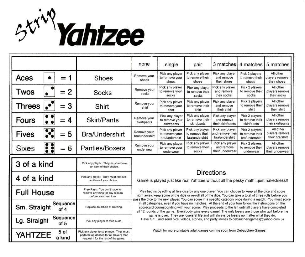 Yahtzee Score Sheets Printable   Kiddo Shelter   Yahtzee Score ...
