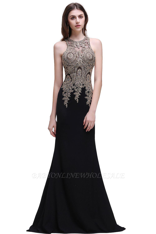 brooklynn   meerjungfrau schwarz prom kleider mit spitze