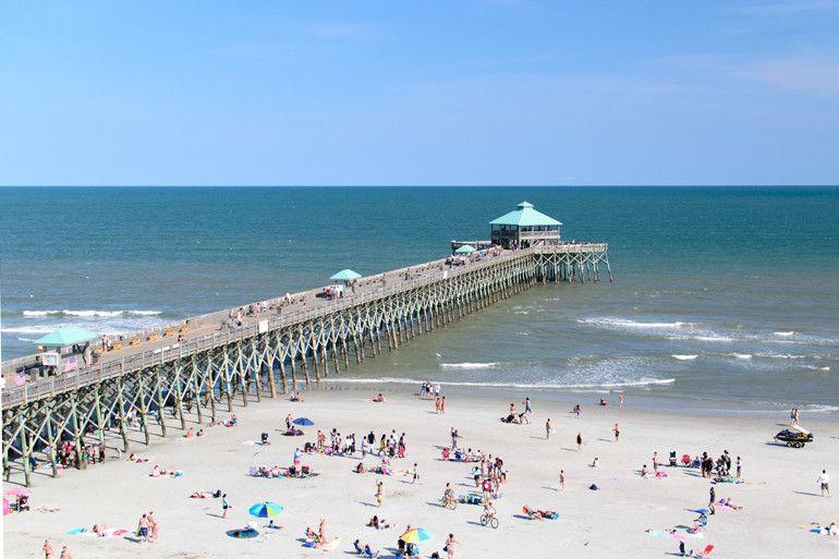 Folly Beach South Carolina With