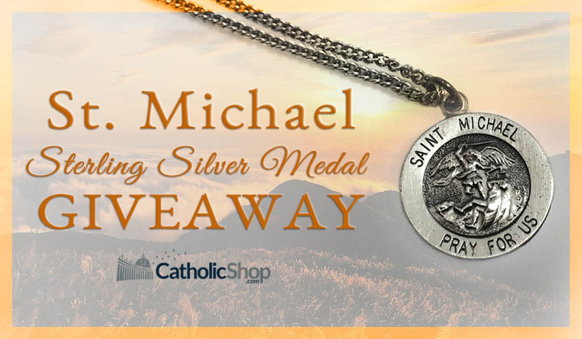 Catholic Shop - Win a St. Michael Sterling Silver Medal - http://sweepstakesden.com/catholic-shop-win-a-st-michael-sterling-silver-medal/