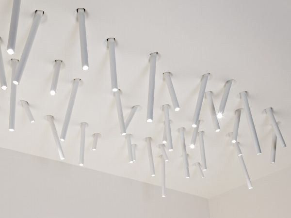 Flos Plafoniere Soffitto : Lampada da incasso soffitto juncos collezione 3d by