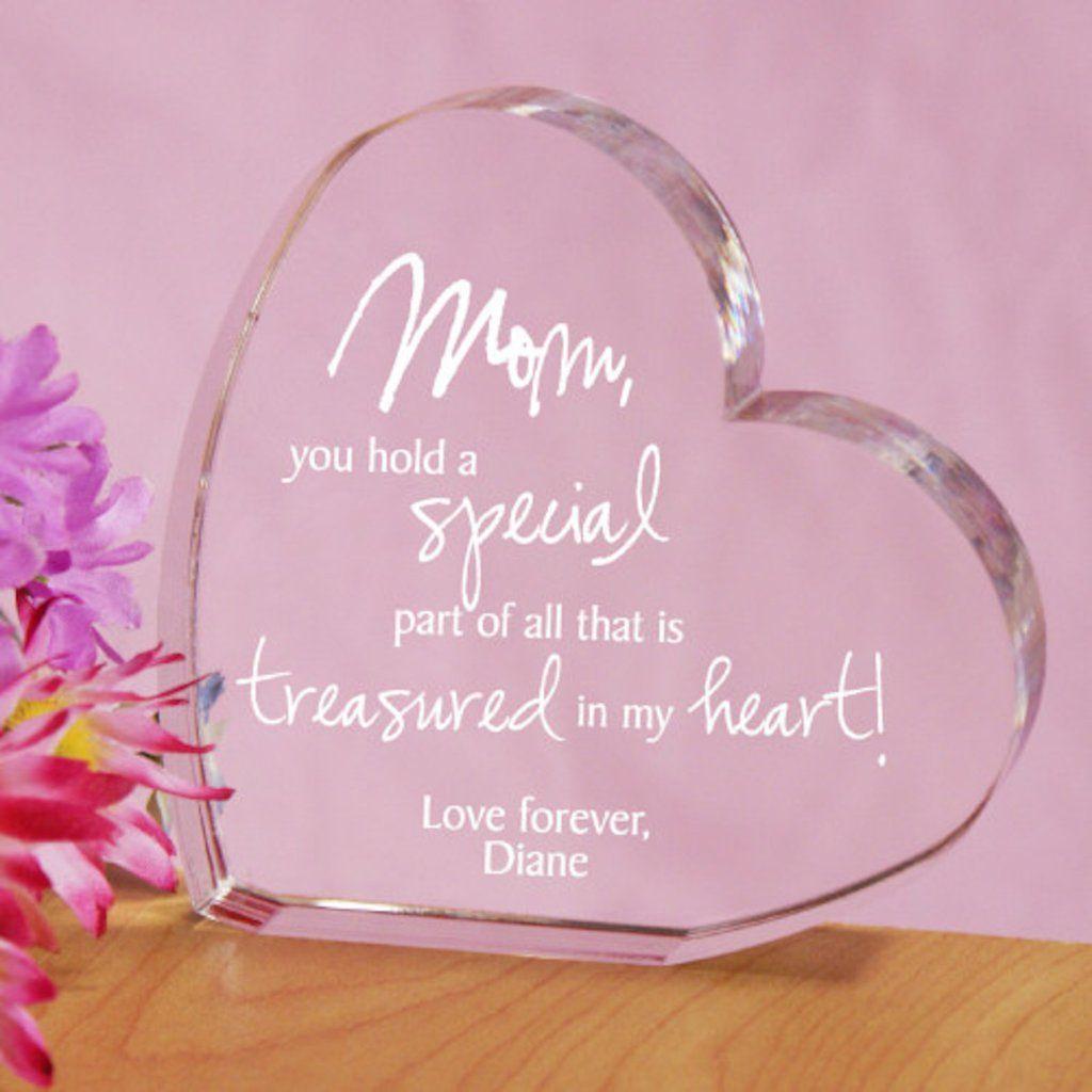 Personalized Engraved Treasured In My Heart Keepsake - Gifts Happen ...