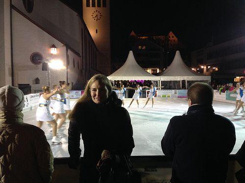 Eiszauber auf dem Starnberger Kirchenplatz