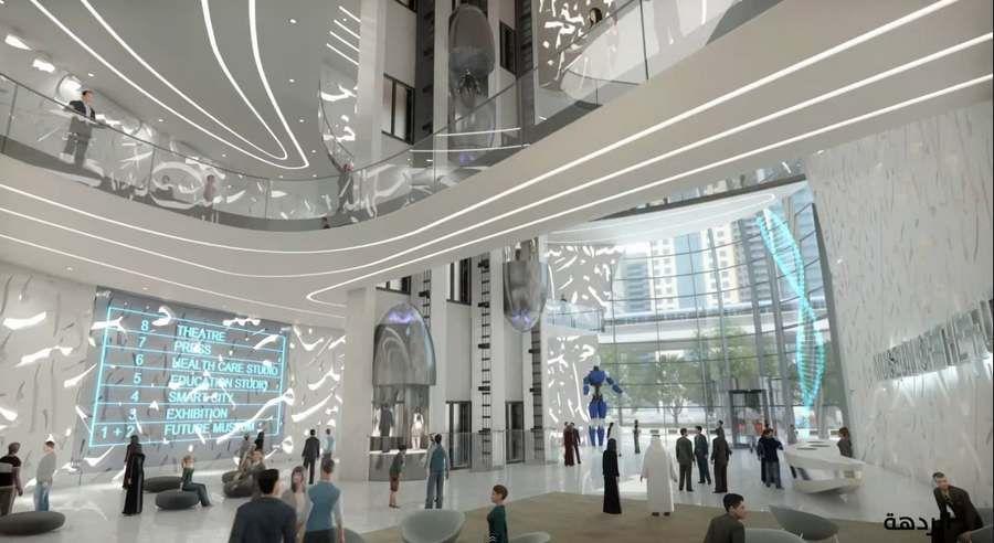 D Printing Dubai Exhibition : D printed museum of the future in dubai architecture museum