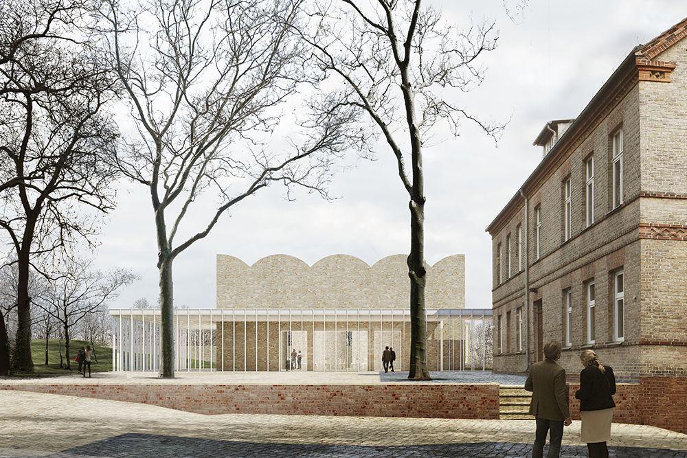 Paul Böhm #architektonischepräsentation