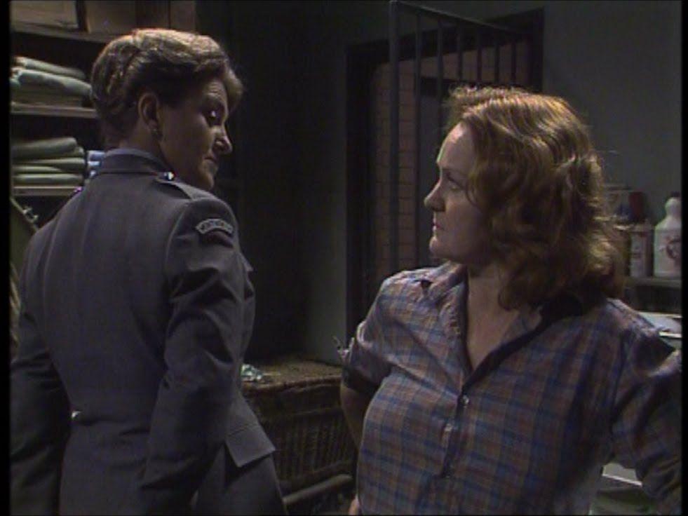 Prisoner Cell Block H - Joan Ferguson And Bea Smith Meet -7406