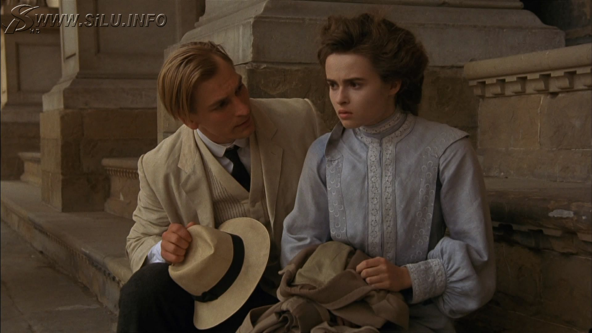Julian Sands and Helena Bonham Carter in A Room with a View ...
