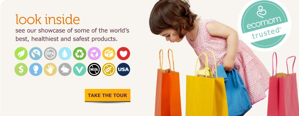 Ecomom: Healthy products, environmentally friendly products, fairly priced products