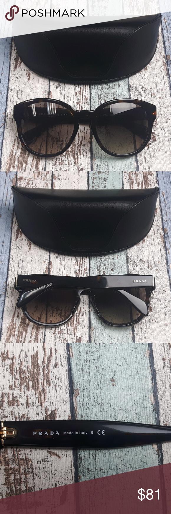 d146e9f2e19bc PRADA SPR18R 2AU-3D0 Women Sunglasses Italy DIL413 Made in  Italy Lens