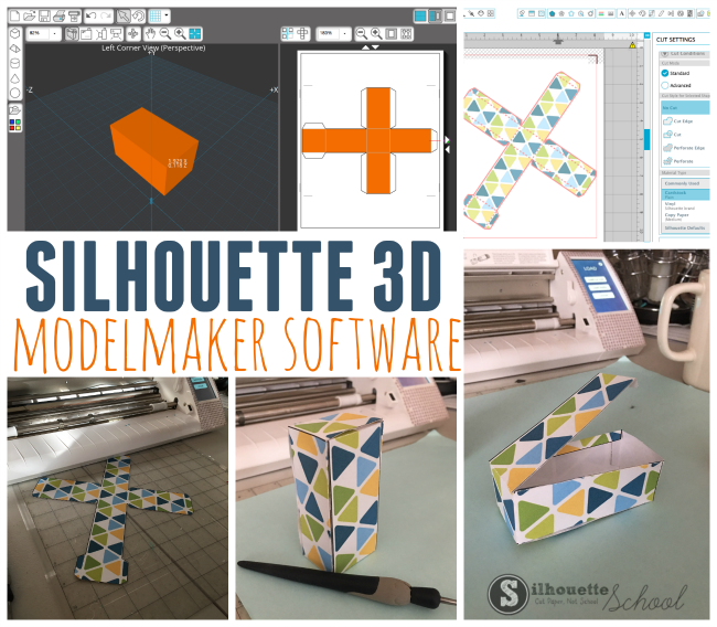 Silhouette ModelMaker: Design 3D Shapes and Export as SVG