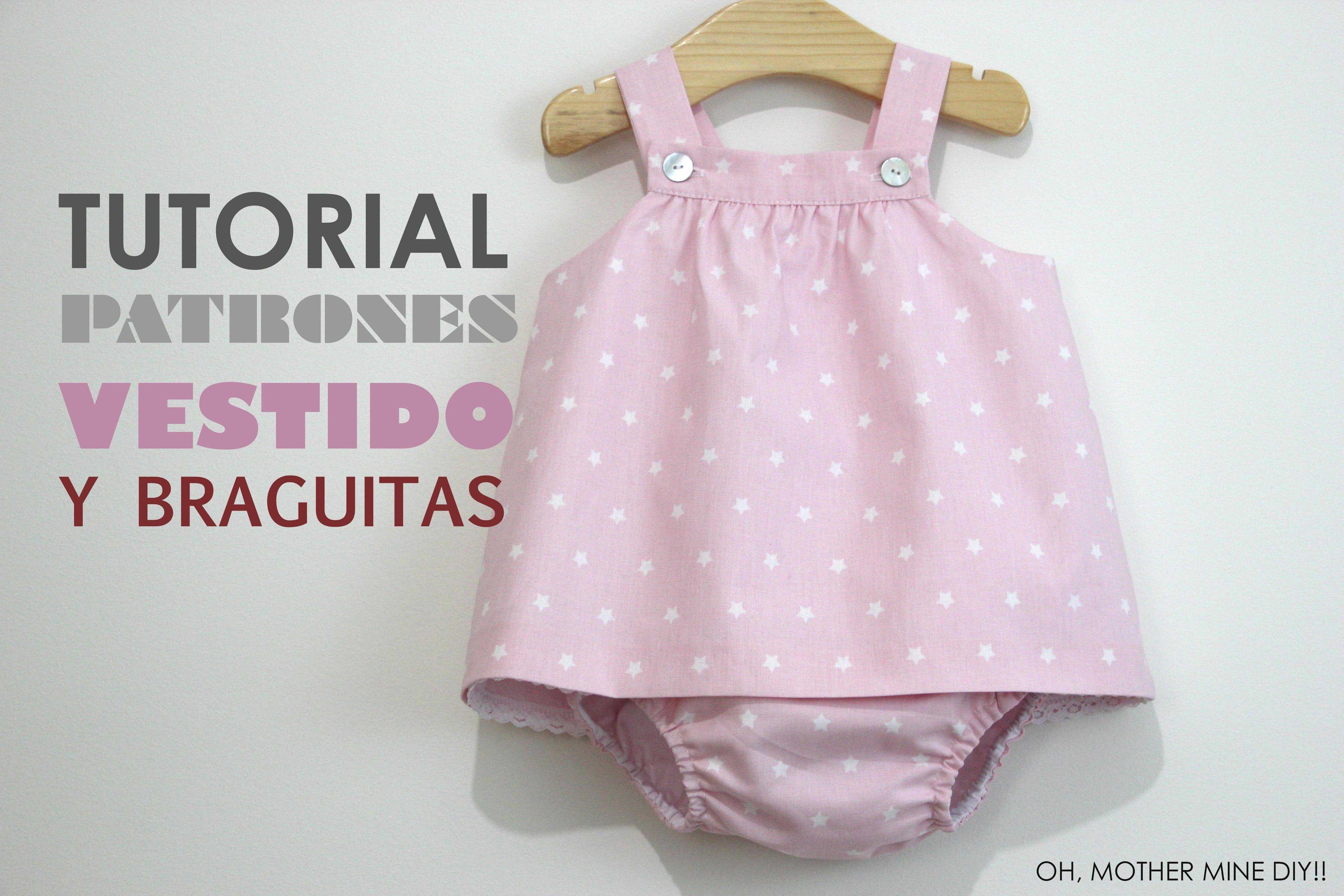 831b60a9631de DIY Ropa bebé  vestido y braguita (patrones gratis)