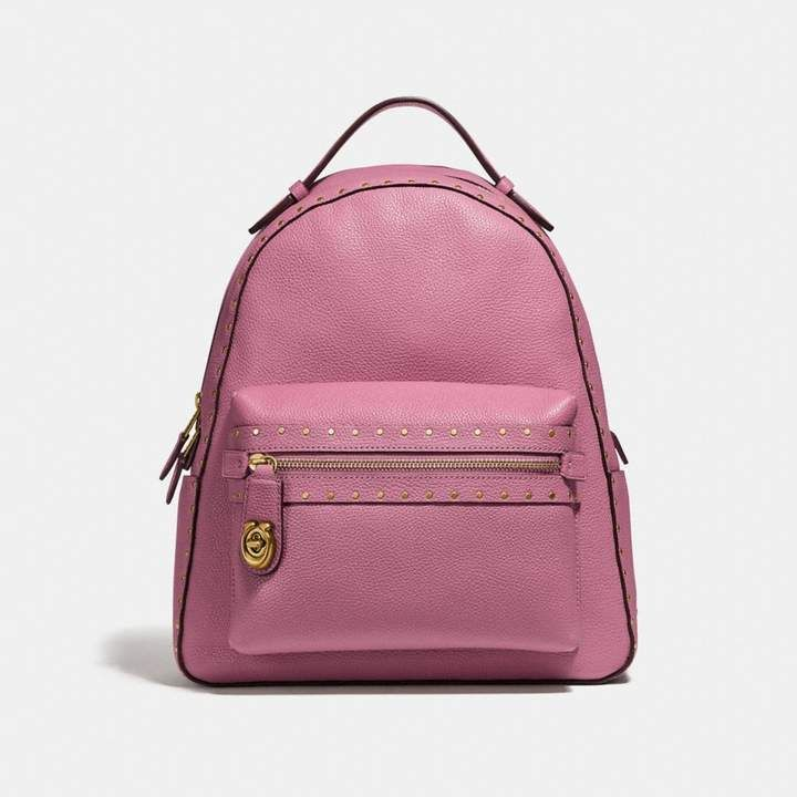 5648020b8c95 Coach Campus Backpack With Rivets