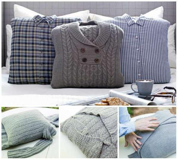 17 merveilleuses d corations diy faire avec des vieux v tements couture pinterest vieux. Black Bedroom Furniture Sets. Home Design Ideas