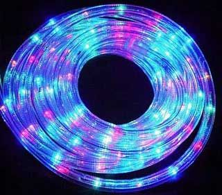 Purple Rope Lights New Rope Light Takes Decorating To New Levels  Rope Lighting Decorating Design