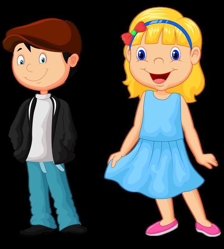 Мальчики и девочки картинки из мультфильмов