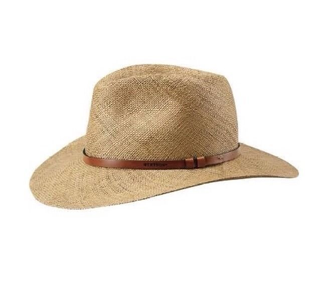 81c300e8a STETSON MEN'S PANAMA BAO STRAW HAT, WALTON SIZE SMALL PECAN COLOR 6 ...