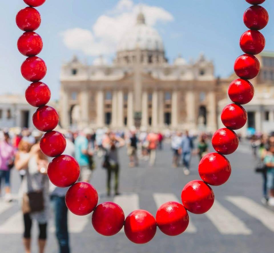 #wianki sul #Tevere #JoannaSlowinska #slowinska #AKT #Roma #23giugno #solstizio #estate #MonikaBulaj #Bulaj #ghirlande #ghirlanda #DiMaggio #dimaggio #PoloniaTurismo @Susan Brocker Turismo