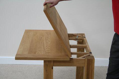 Flip Top Dining Tables Small Extending Table Narrow Folding For Barn Apt