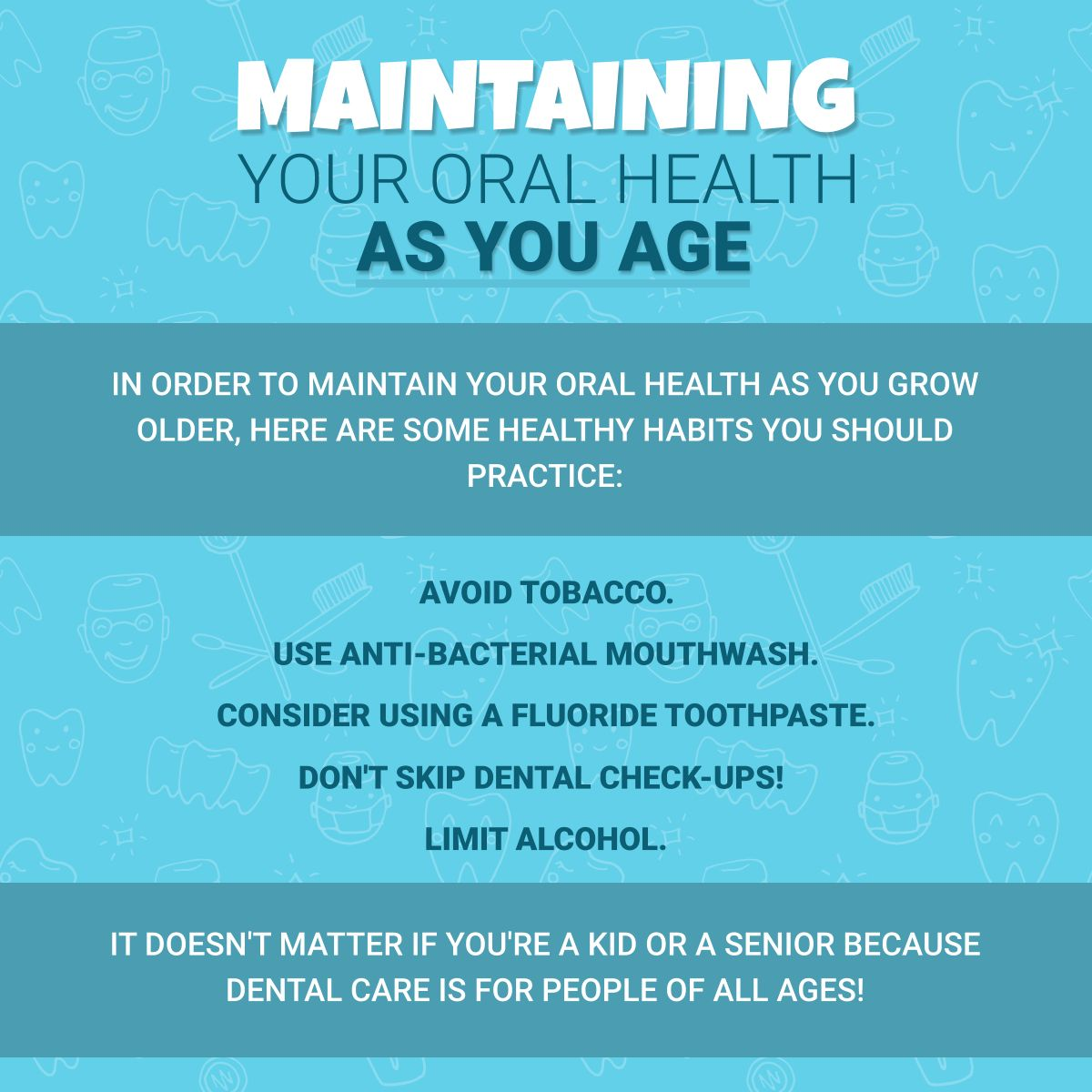 Maintaining Your Oral Health as You Age OralHealth