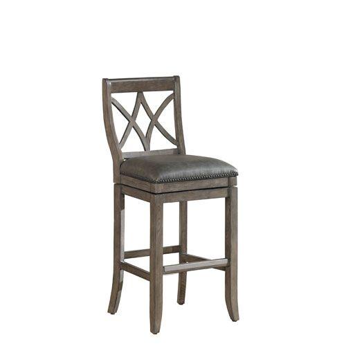 Magnificent American Heritage Billiards Hadley Glacier 45 Inch Bar Stool Machost Co Dining Chair Design Ideas Machostcouk