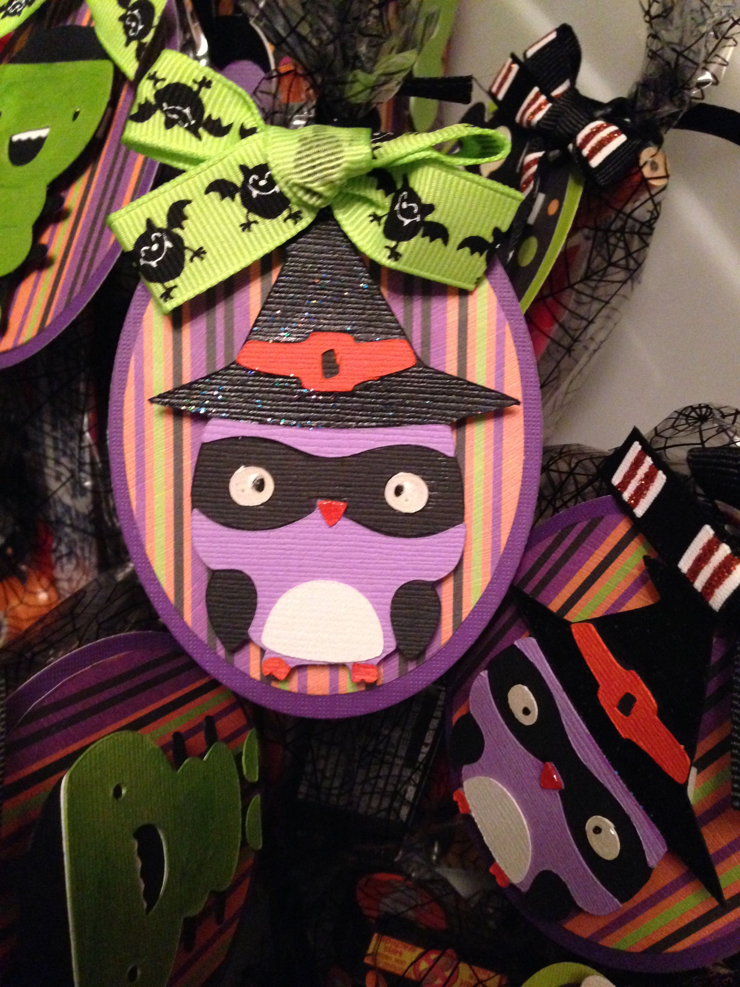 Halloween gift bag tags.