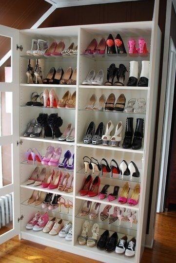 Zapatera ideas para organizar tu hogar pinterest for Zapateras modernas para closet