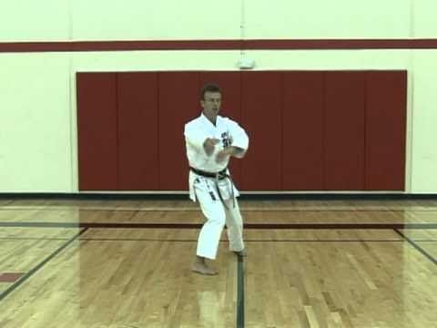 Instructions For Shotokan Karate Kata Heian Nidan Black Belt