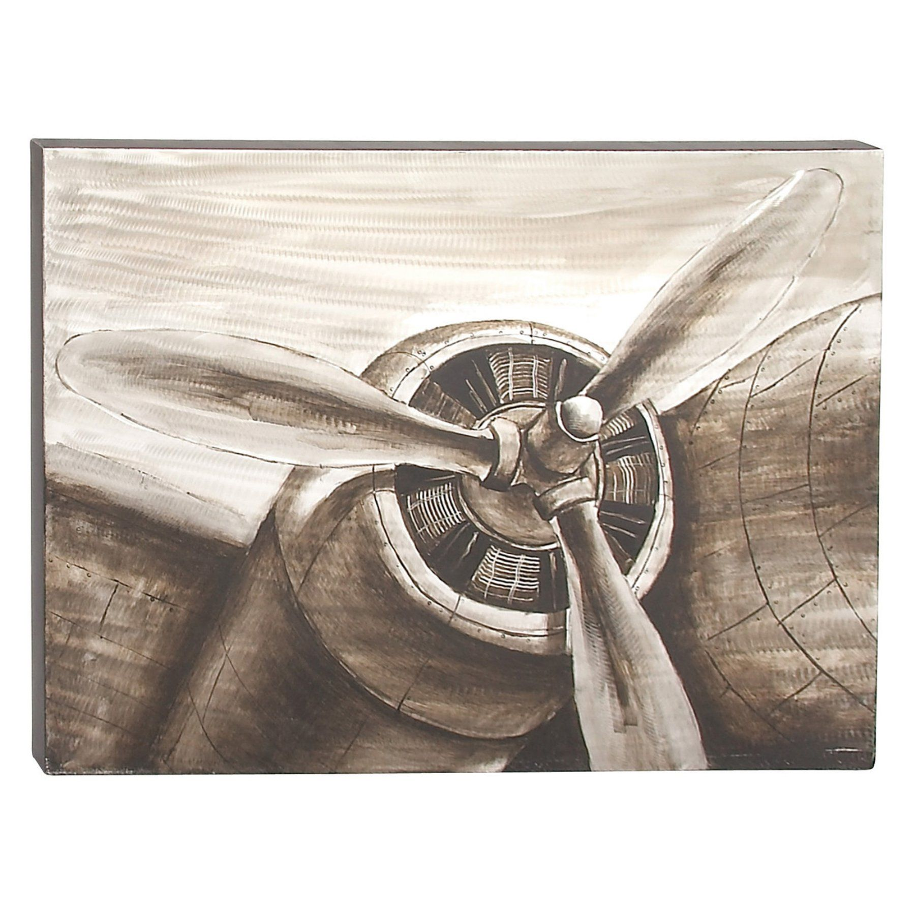 Decmode Vintage Airplane Propeller Wall Art 43980 Airplane Wall Art Airplane Art Propeller Wall Art