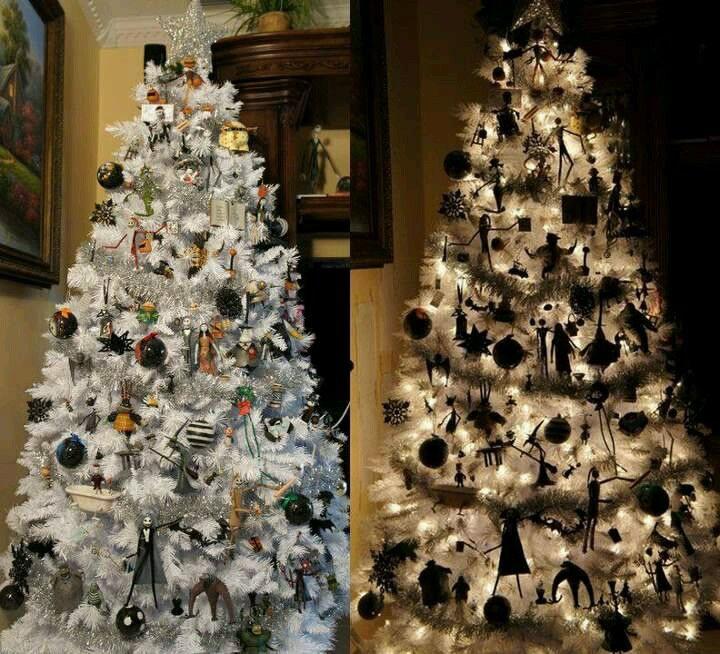 Nightmare before christmas tree! Way cool I want!   Halloween Tree ...