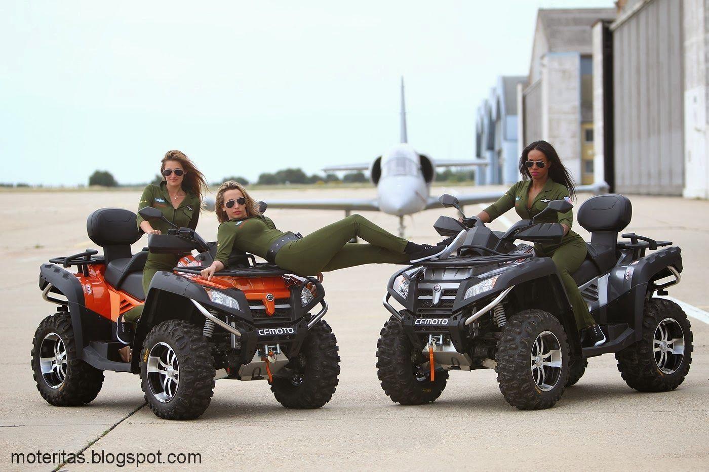 chicas warriors peru - motocicletas custom