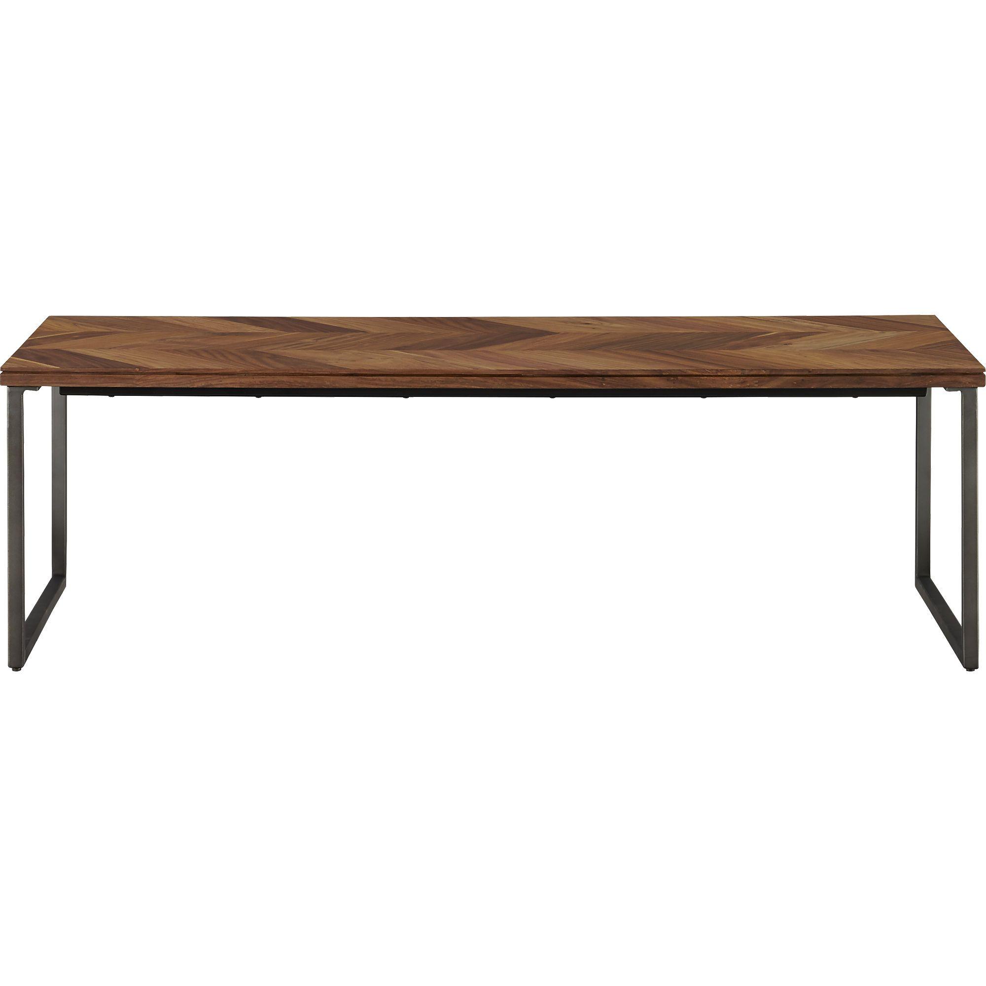 Astounding Chevron Coffee Table In View All Furniture Cb2 Keller Inzonedesignstudio Interior Chair Design Inzonedesignstudiocom