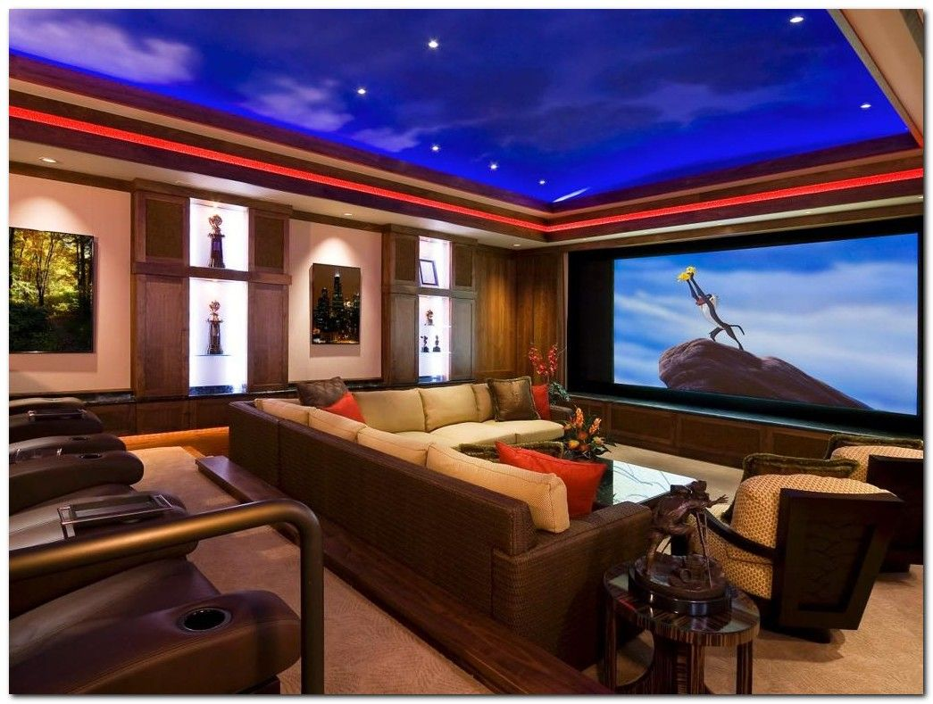 50 Tiny Movie Room Decor Ideas With Images At Home Movie Theater Home Theater Setup Best Home Theater
