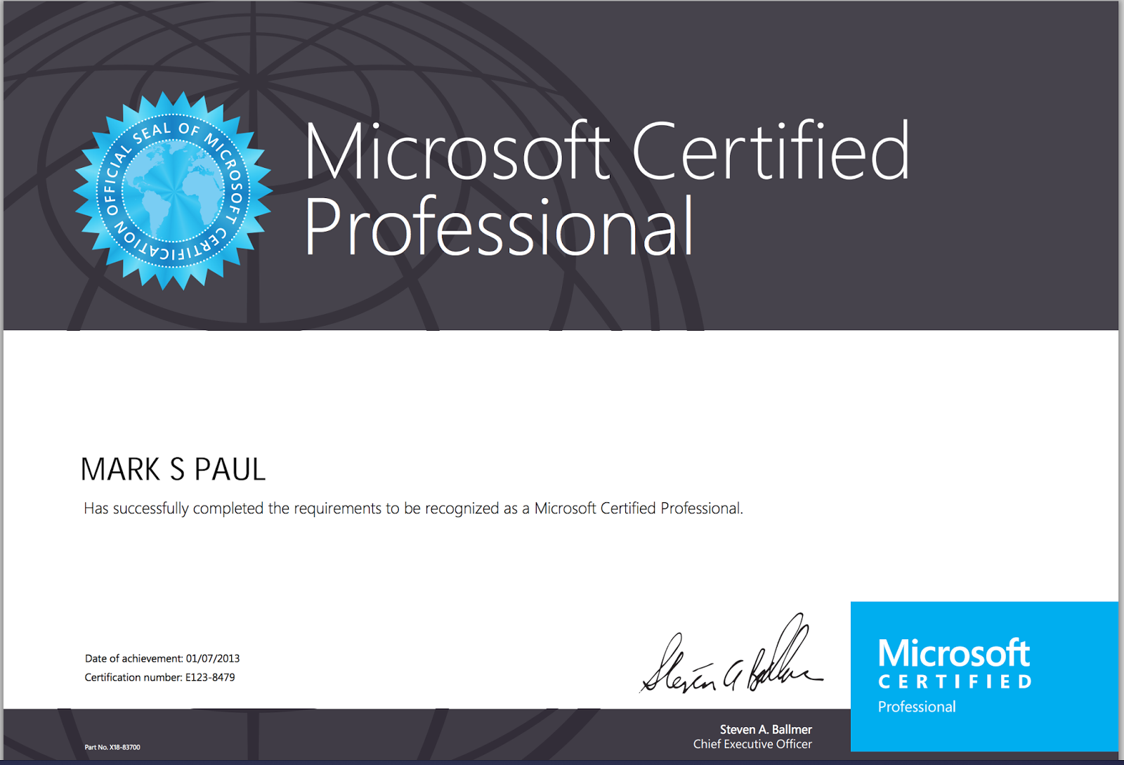 How to become a microsoft certified professional microsoft how to become a microsoft certified professional by becoming a microsoft certified professional you 1betcityfo Images