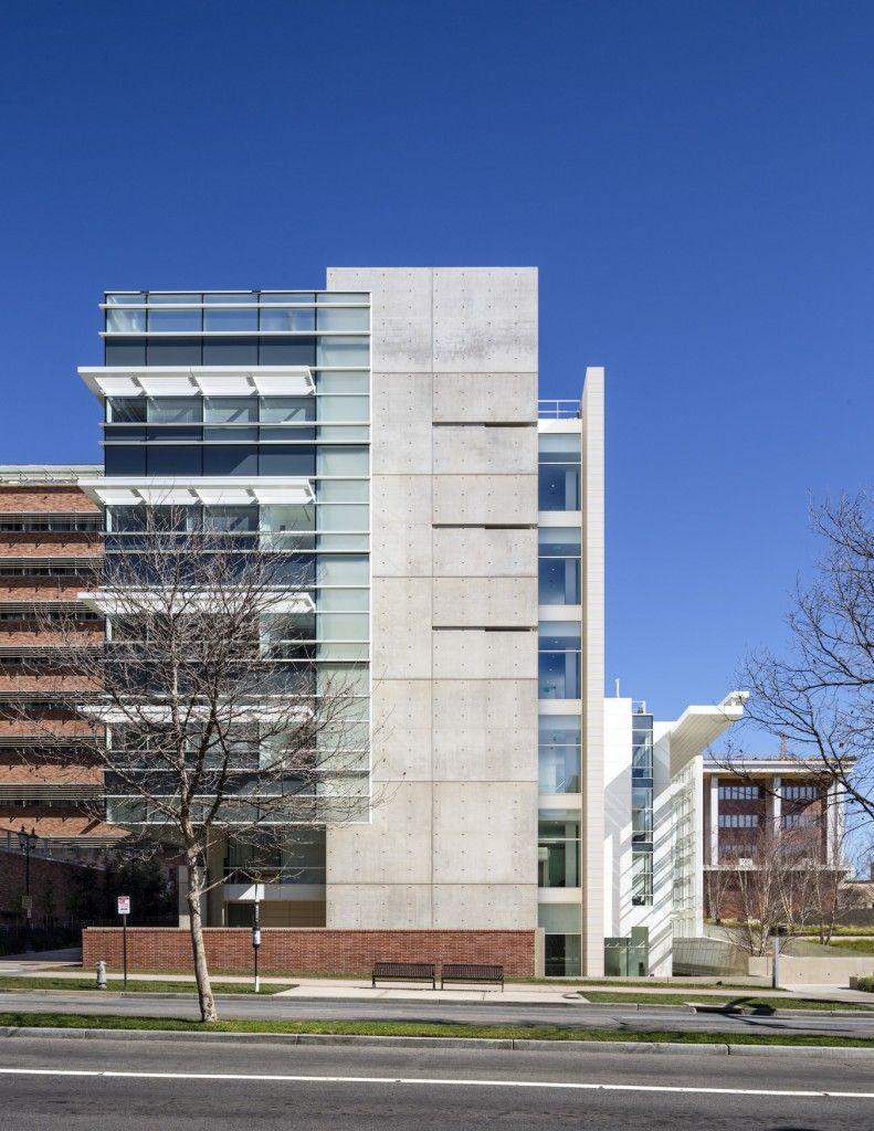 Edie and lew wasserman building university of california for Exterior edificios