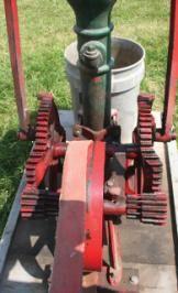 Gas Powered Pump Jack Used To Pump Water Circa 1800 S Pumps Antique Tractors Vintage Farm