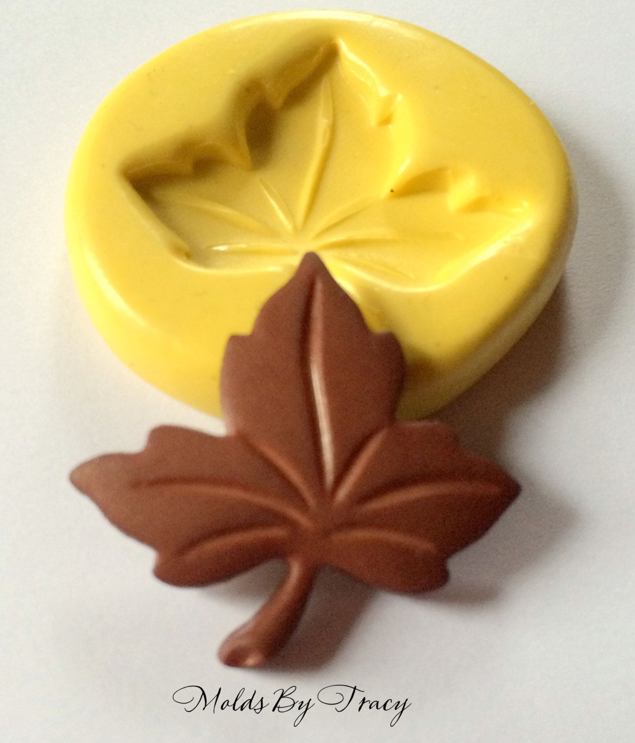 Multi Purpose Leaf Silicone Mold Chocolate Polymer Clay Jewelry Soap Wax Resin