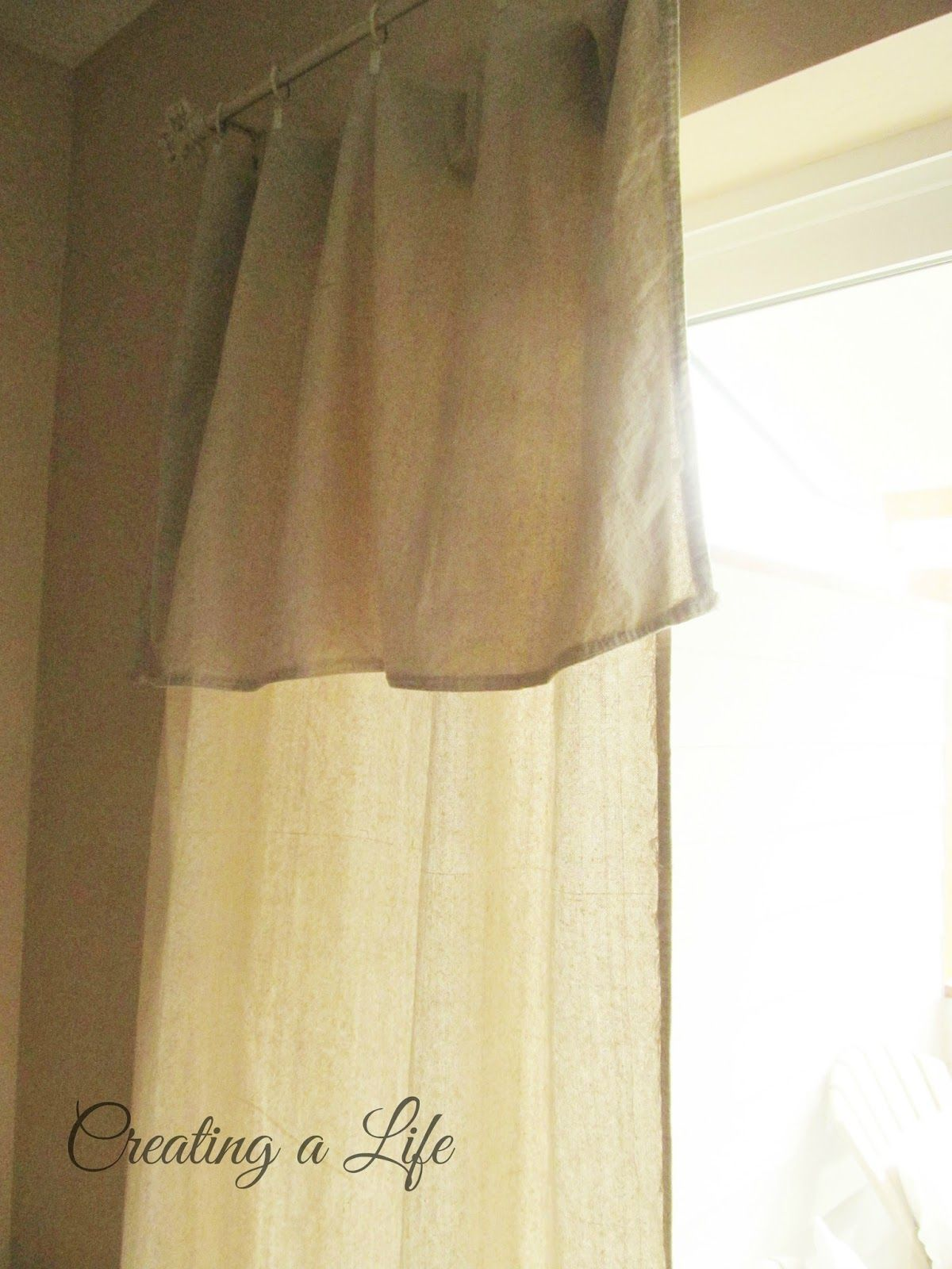 Hanging curtains hack simple curtains front doorscurtains divider