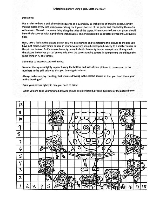 Collection of Math Grid Worksheets Bloggakuten – Math Grid Worksheets