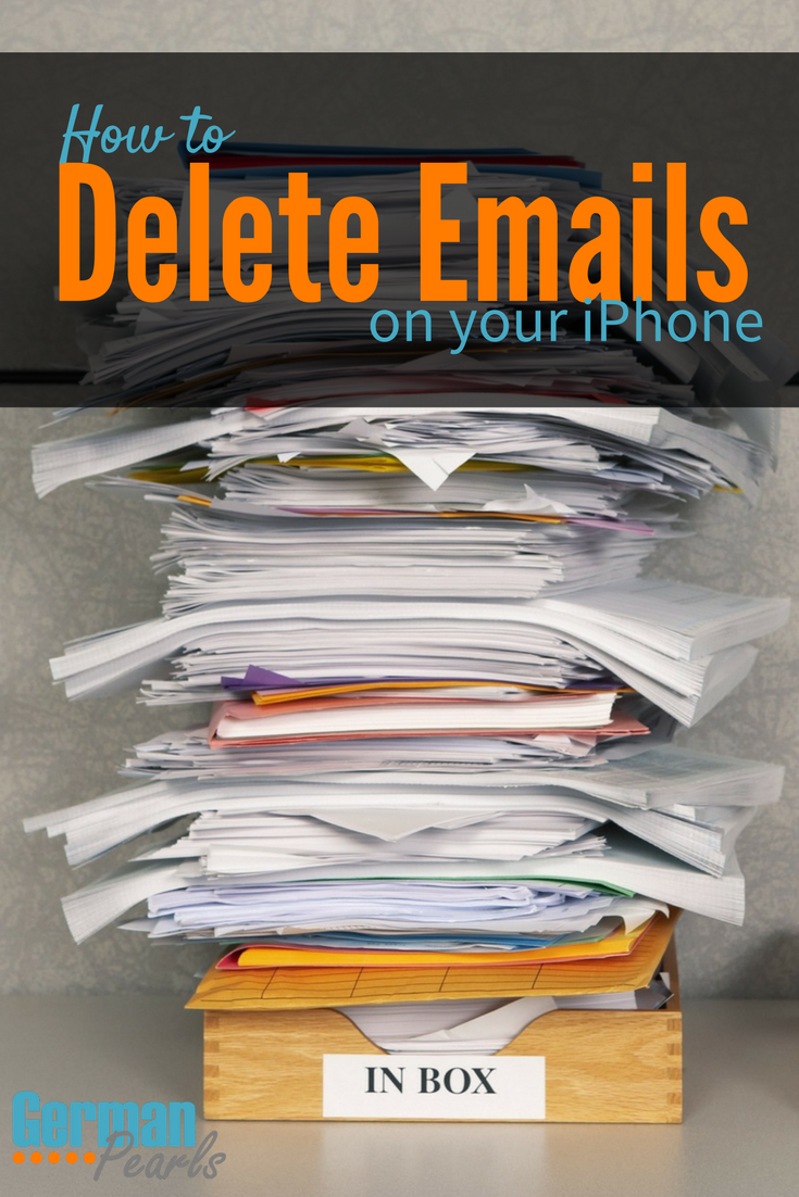 How to Delete Emails on the iPhone Iphone information