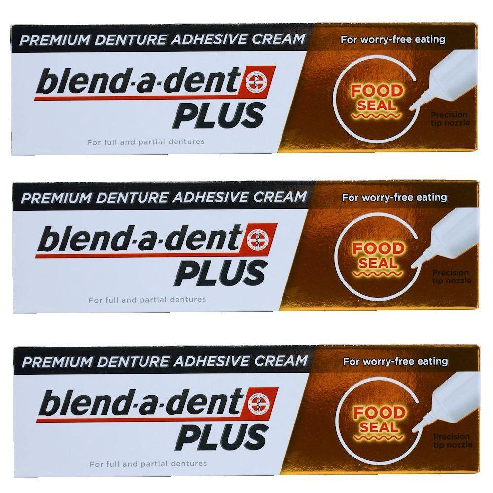 German Blend A Dent Plus Premium Denture Adhesive Cream Food Seal 40g 3 Pack Denture Adhesive Denture Oral Care