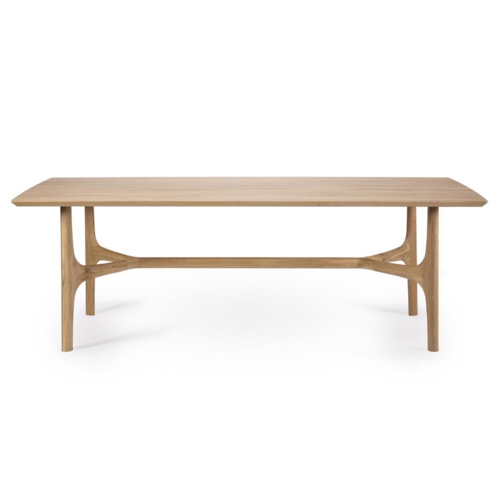 Ethnicraft Oak Nexus Dining Table Modern Oak Dining Tables